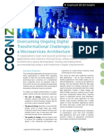 Overcoming Ongoing Digital Transformational Challenges with a Microservices Architecture