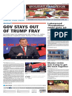 Asbury Park Press front page Wednesday, Dec. 16 2015