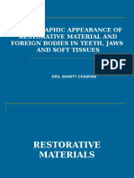 Restorative Materials&Foreign Bodies