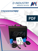 Algamed Industry Physiotherapy Catalogue