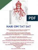 Inspirational_HARI OM TAT SAT
