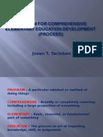 Program for Comprehensive Elementary Education Development (Proceed