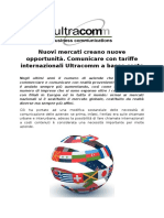Comunicare Con Tariffe Internazionali Ultracomm a Basso Costo