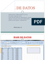 Base de Datos Presentacion Final