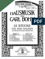 Hausmusik von Carl Bohm