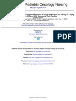 journal of paliatif nursing
