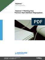Polypropylene Polystone p Grey