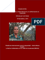 Informe Estado de Sitio 2015-11-20