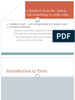 intro to torts ch 18