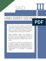 Unidad 3 - Habilidades Sociales