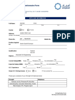 Download Applicant Form
