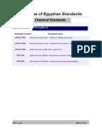Chem Standards
