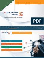 Spectrum Training Portfolio