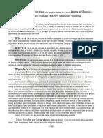 Restore America Plan Declaration Pages