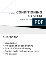 airconditioning system