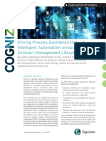 Driving Process Excellence through Intelligent Automation across the Contract Management Lifecycle