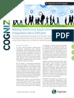Making Multicloud Application Integration More Efficient