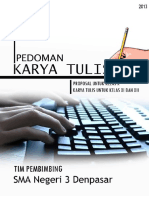 Pedoman Penulisan Karya Tulis-finalisasi