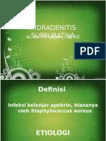 1. hidradenitis supurativa