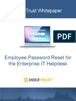 Employee Password Reset for the Enterprise IT Helpdesk