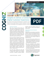 Insights to Deliver a Connected Digital Customer Experience