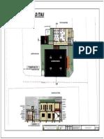 Plano Centro Comunal Secciones y Techo