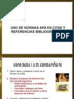 Normas Apa - Citas y Referencias