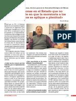 Entrevista a José Álvarez Alonso, director general de Diversidad Biológica del Minam