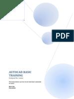 Autocad Basic Training