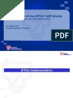 tariff scheme