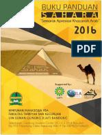 Buku Panduan Sahara 2016