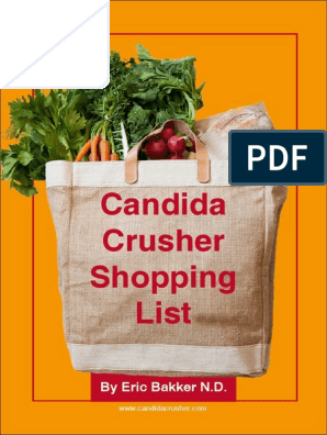 Candida Crusher Shopping List | Bean | Breads