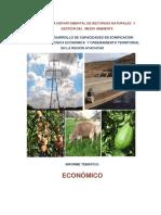 Estudio Económico ZEE-OT Ayacucho