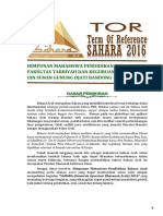 Tor Sahara 2016