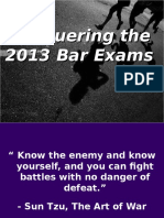 Bar Strategies