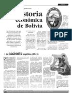 Historia Económica de Bolivia