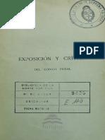 Rivarola Rodolfo Exposicion Critica Codigo Penal Republica Argentina t01 1890