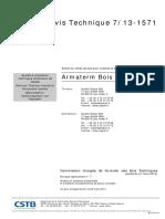 ATec 7-13-1571 Armaterm Bois Poudre WF