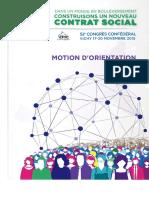 CFTC Motion d'Orientation