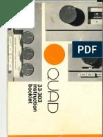 Quad 33 Manual (Hi Res)