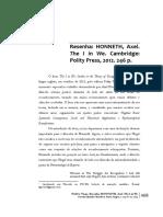 Honneth-The in we-resenha.pdf