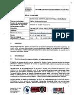 Informe de seguimiento Sec. Desarrollo
