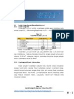 Bab 3 Karakteristik Wilayah Kecamatan Lea-Lea Baru