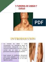 Tumores de Cabeza y Cuello A