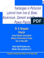 Challenges in Iron n Steel by CPCB