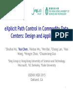 explicit path control