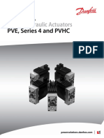 Electro-Hydraulic Actuator Type PVEP / PVEP-F Tech