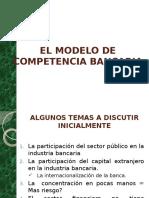 El Modelo de Competencia Bancaria