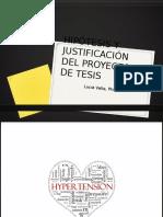 Hip Tesis y Justificaci n Del Proyecto de Tesis Revision