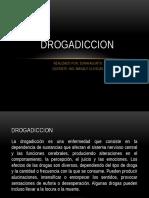 Drogadiccion. Sonia Agurto